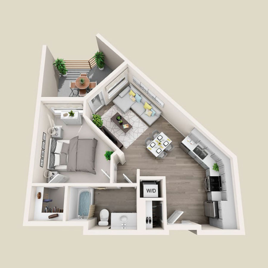 Click here to browse all available 1 bedroom units at Elevate.
