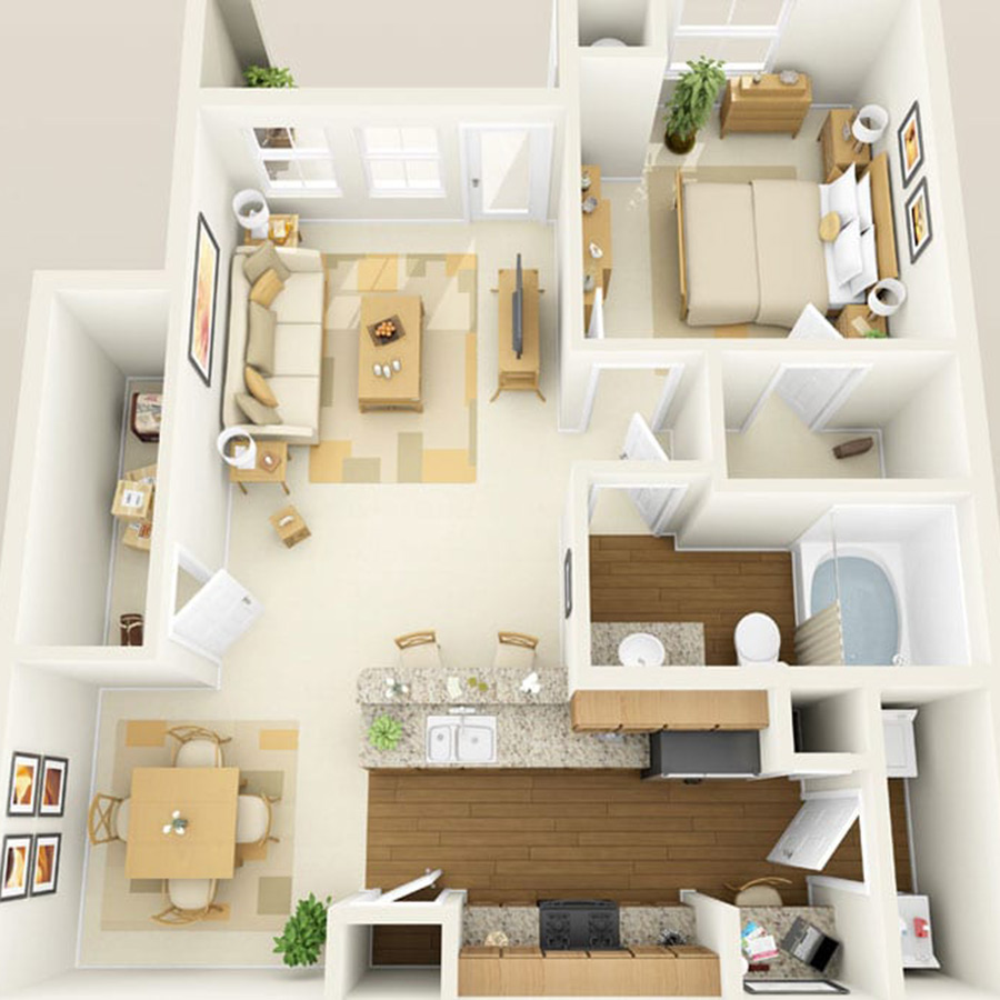 Click here to browse all available 1 bedroom units at Altessa.