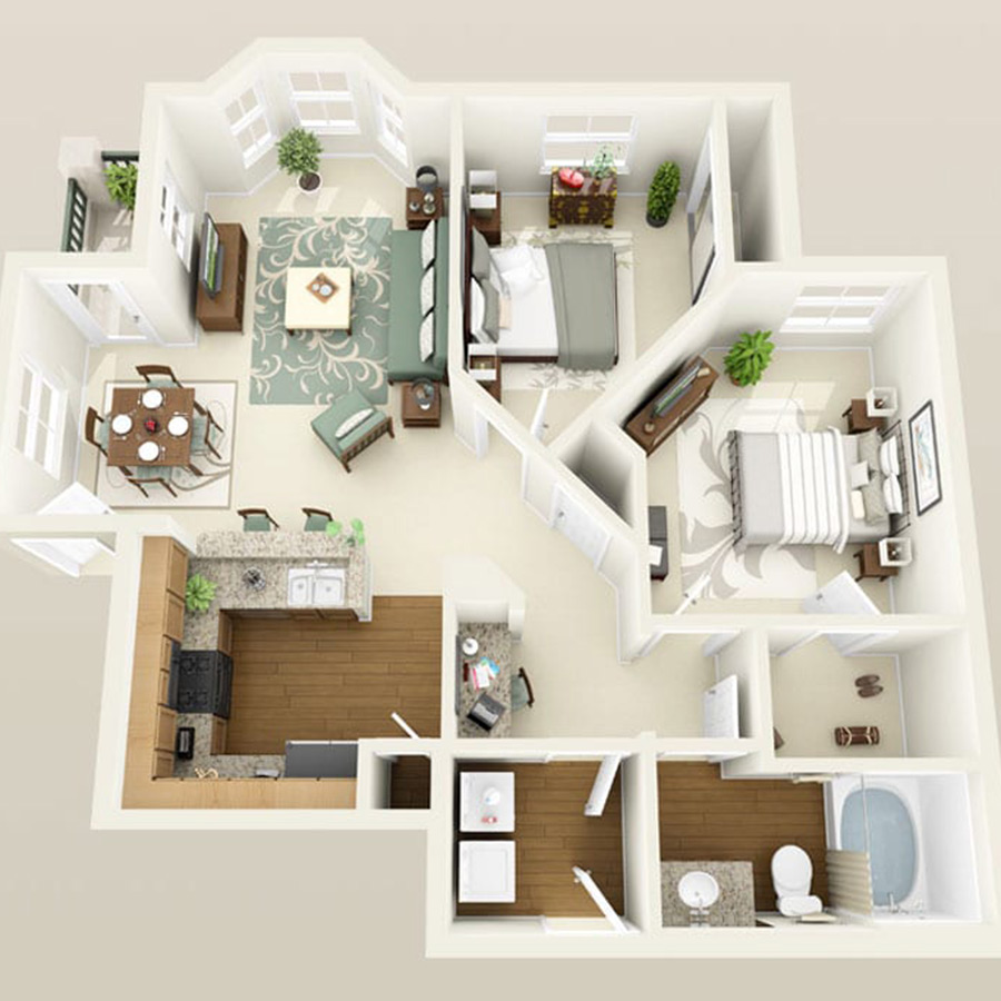Click here to browse all available 2 bedroom units at Altessa.