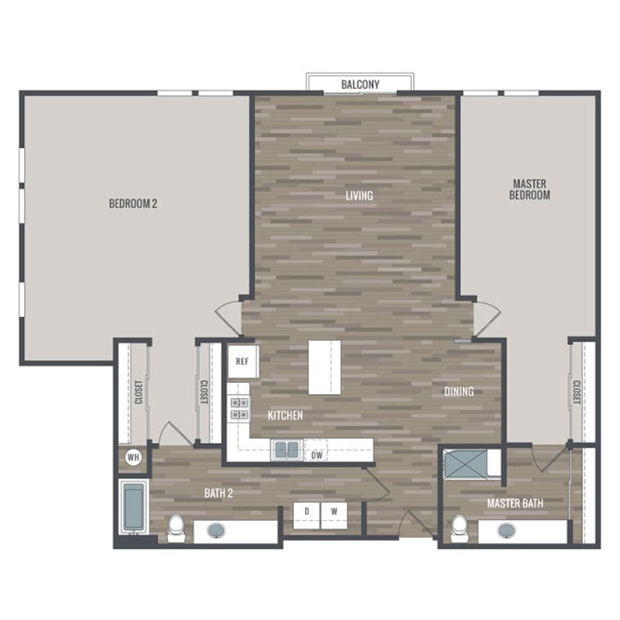 Click here to browse all available 2 bedroom units at Inspire.
