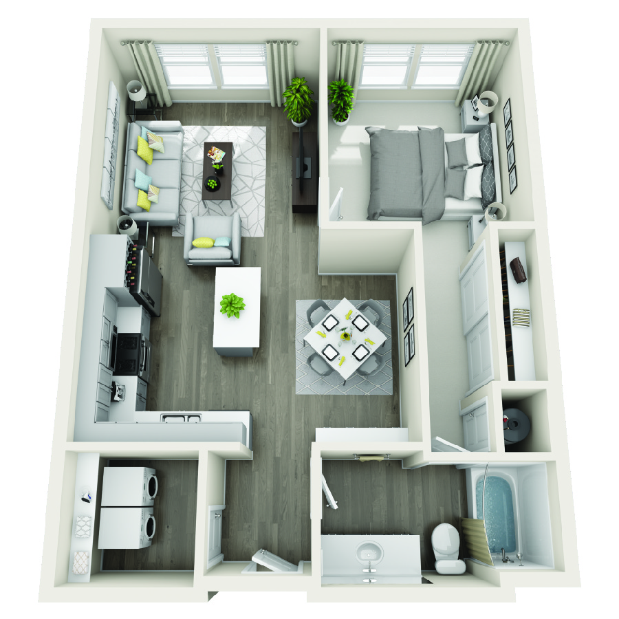 Click here to browse all available 1 bedroom units at Aspire at Sunridge Heights.