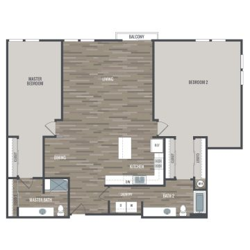 Rendering of the # 4304 floor plan